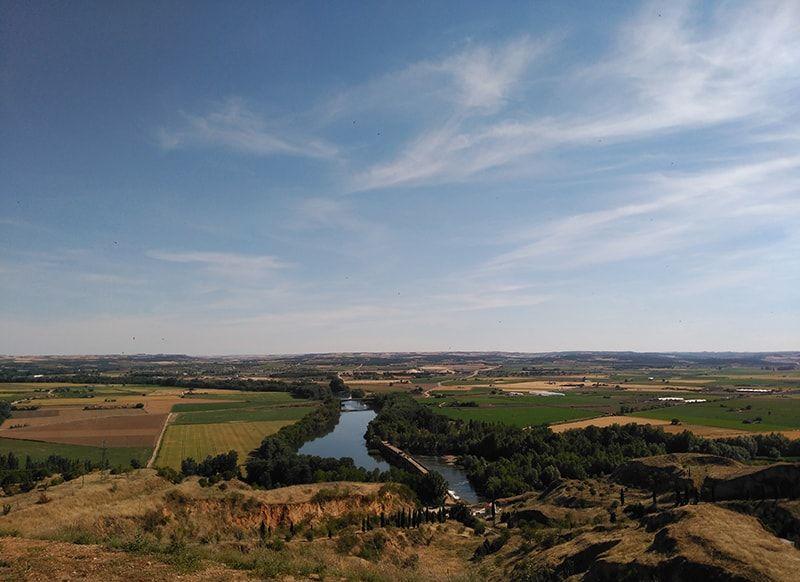 La vega del río Duero