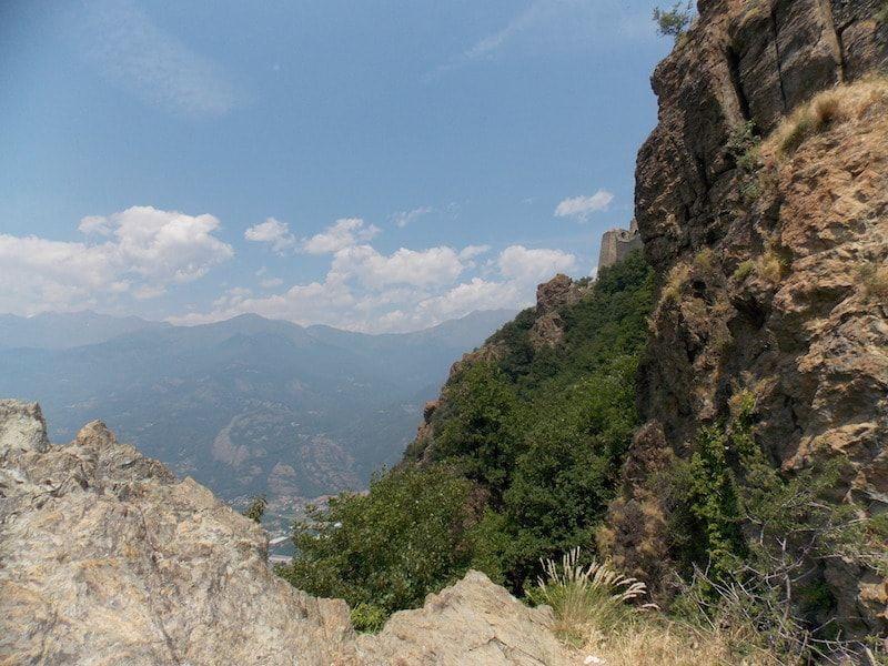 Valle de Susa cerca de Torino