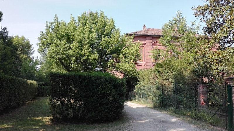Parque de la Mandria en Venaria Reale cerca de Torino