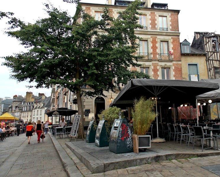 plaza de lices imprescindible en Rennes