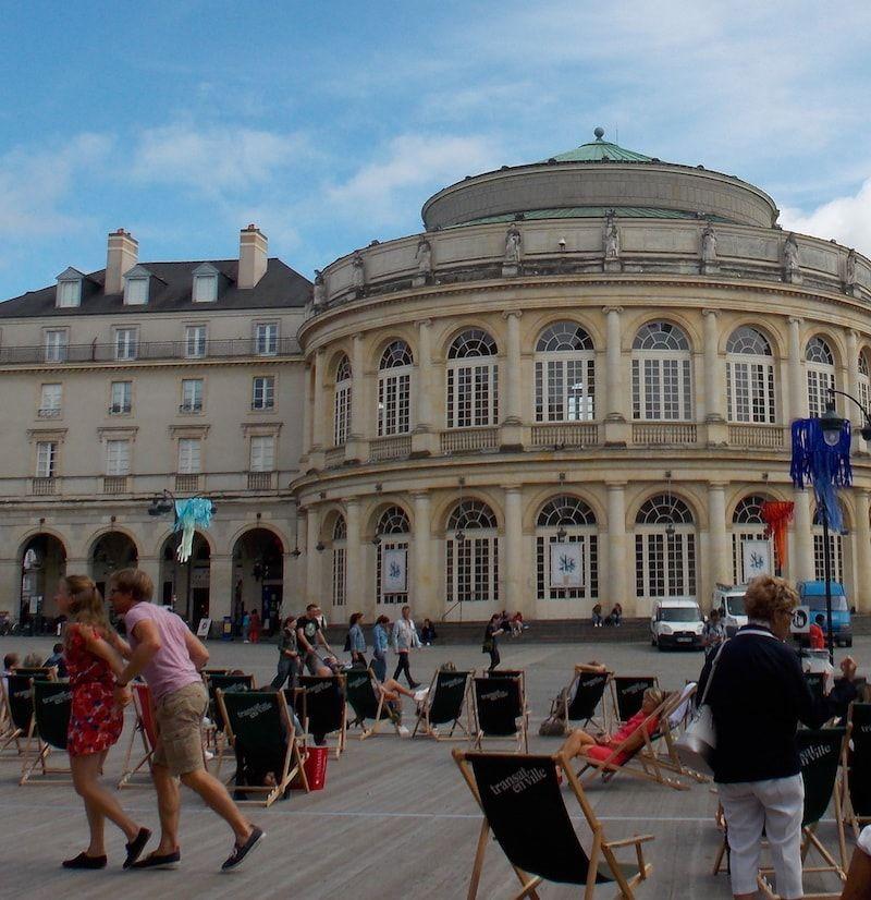 Visitar la Ópera de Rennes