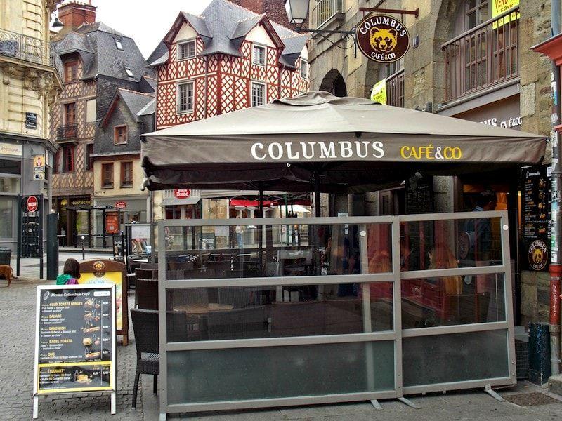 La plaza Santa ana imprescindible en Rennes