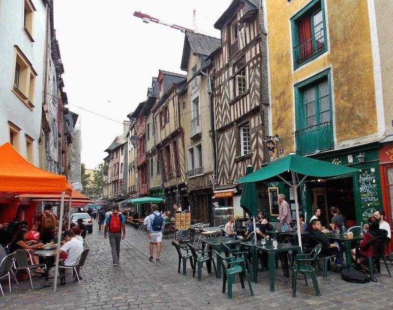 Calle de la Sed en Rennes