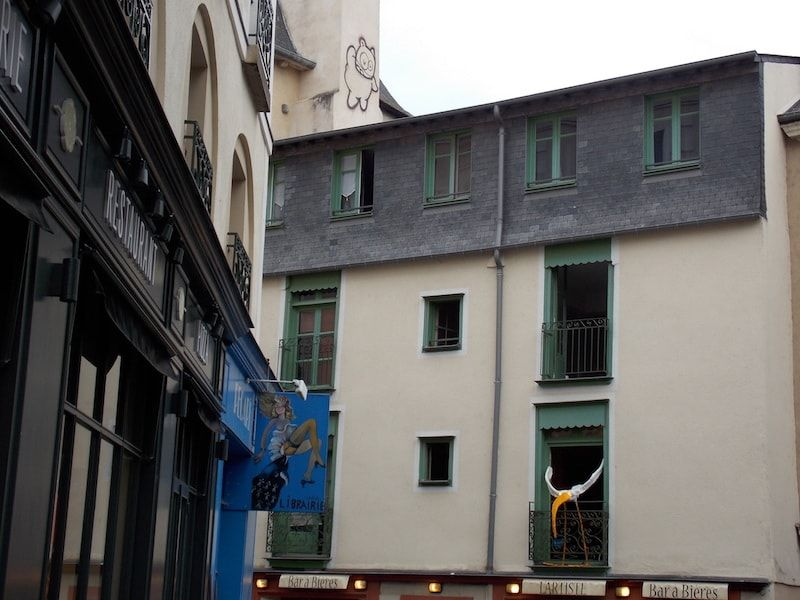 Imprescindible la plaza Santa Ana de Rennes
