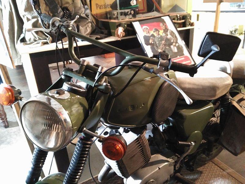 Motocicleta Silo