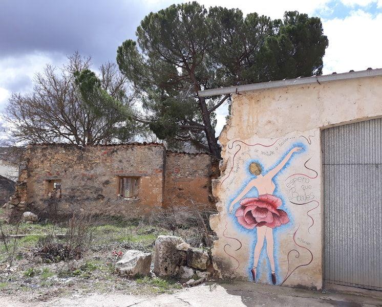Murales de Tubilla lo mejor de la Ribera del Duero