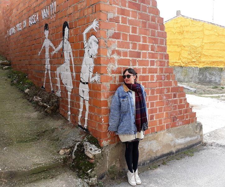Street Art en Tubilla lo mejor de Ribera de Duero