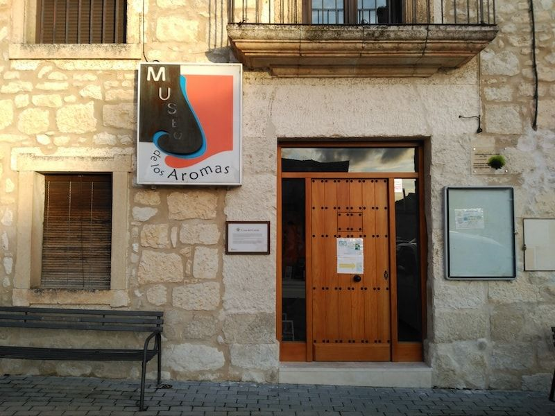 Museo de los aromas de lo mejor de la Ribera de Duero