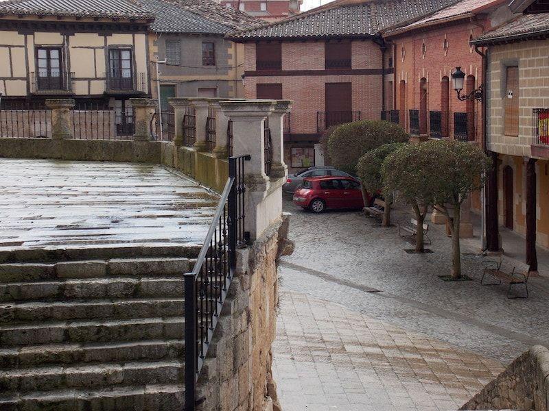 plaza de Gumiel en Ribera de Duero