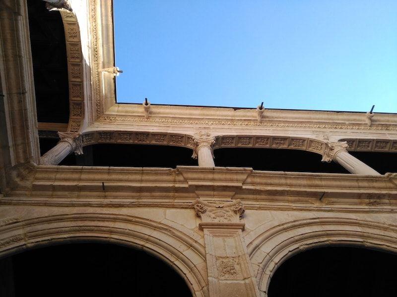 Patio palacio de Peñaranda en la Ribera del Duero