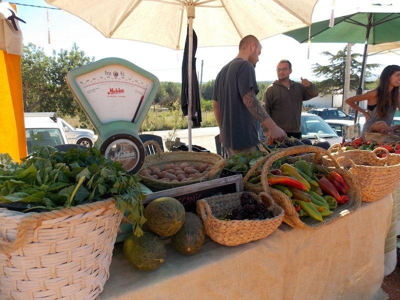 Mercados en Ibiza