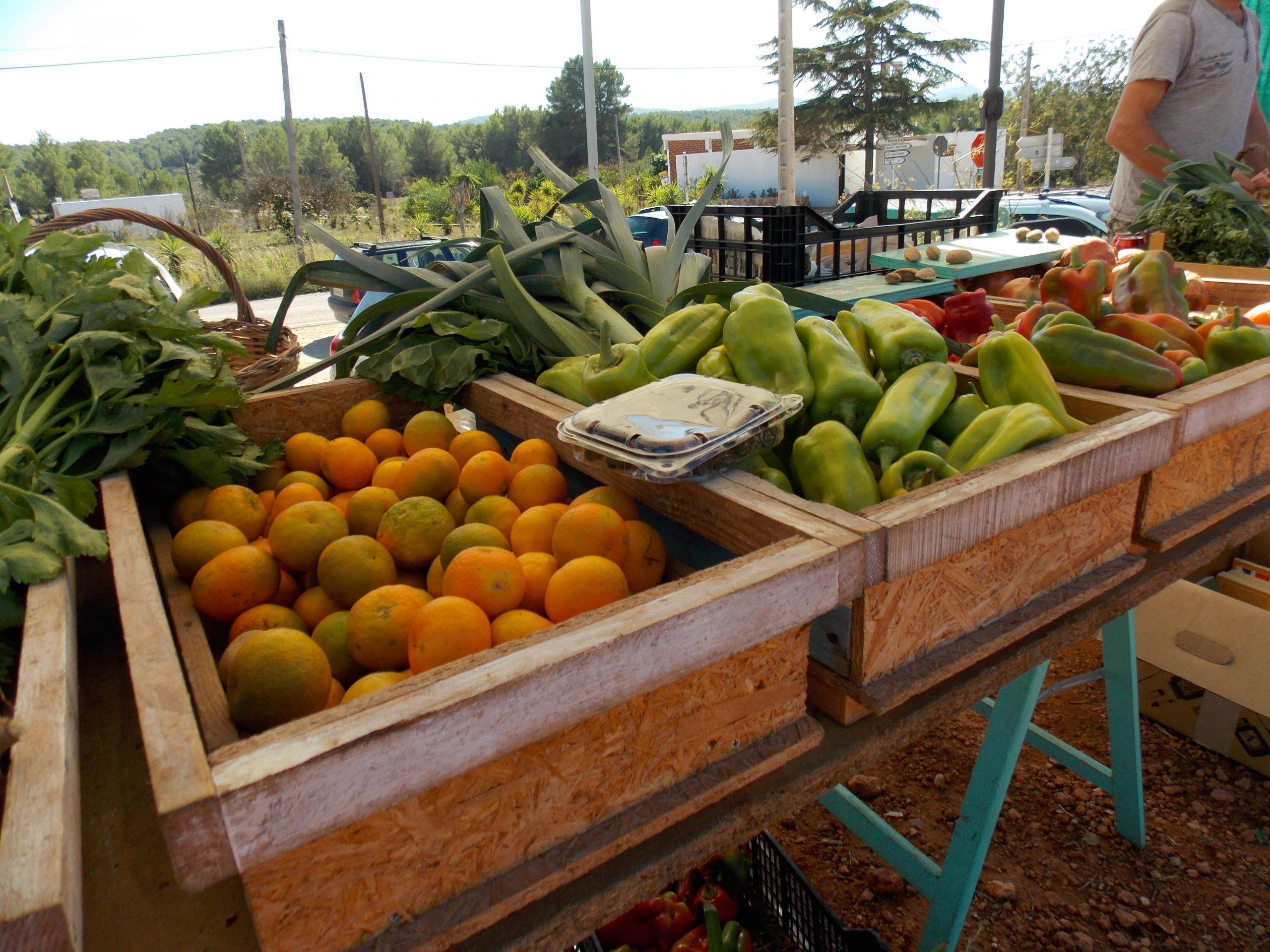 Comprar fruta y verdura fresca en Ibiza