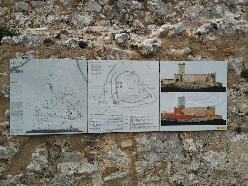 Castillo Ucero visitar en Soria