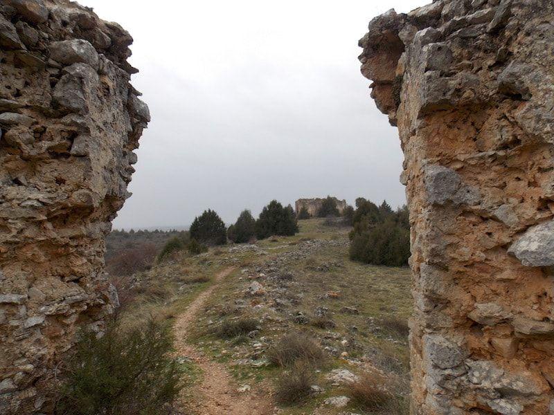 Ucero y su castillo en el Cañón de Río Lobos