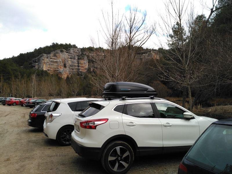 Dos aparcamientos en Cañón de Rí Lobos Soria