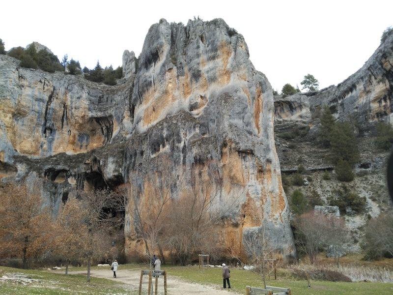 Paisaje de rocas en Cañón Soria