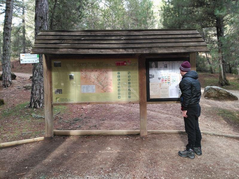 Rutas en el cañón de Río Lobos