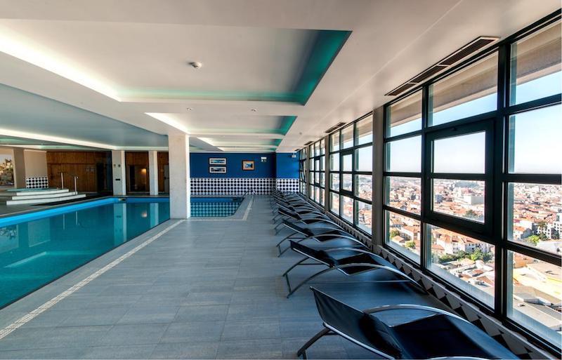 Vistas de día desde hotel Vila Gale