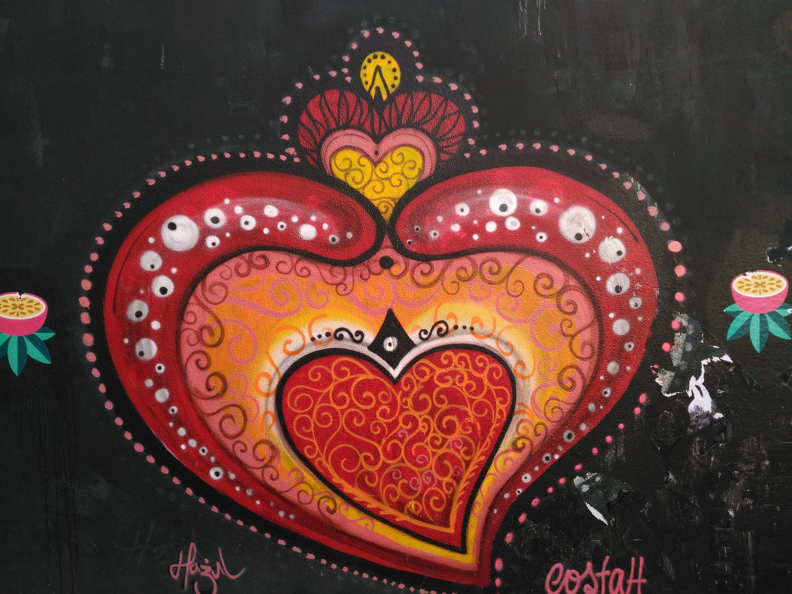 Street art en las calles de Porto