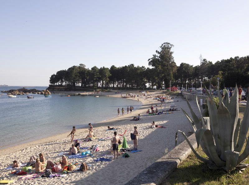 Playa de Cabío en Rías Baixas