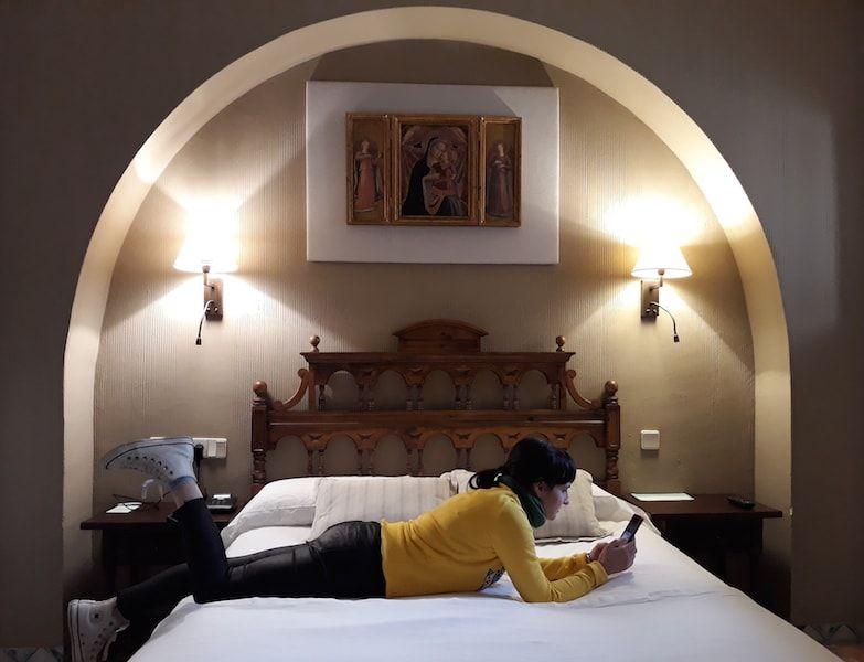 Dormir en el castillo de Sigüenza