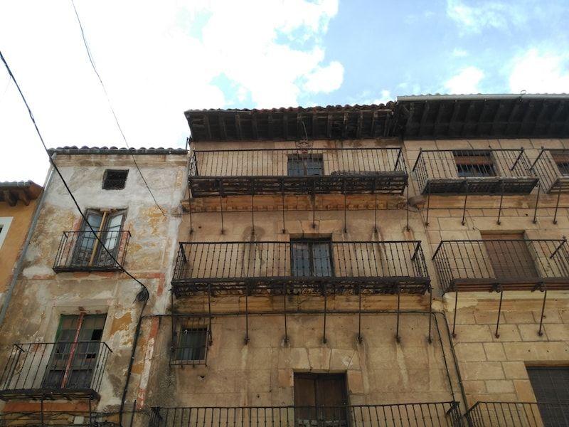 Casas típicas en Sigüenza