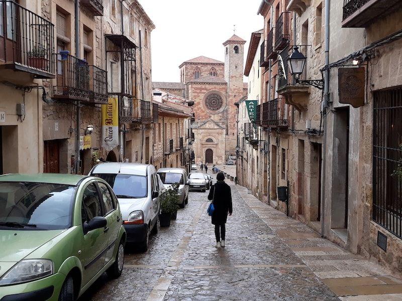 calle Mayor de Sigüneza