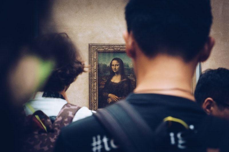 La primera vez en el Louvre de París