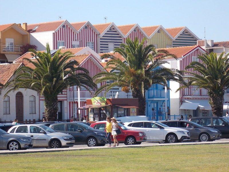 Costa Nova cerca de Porto