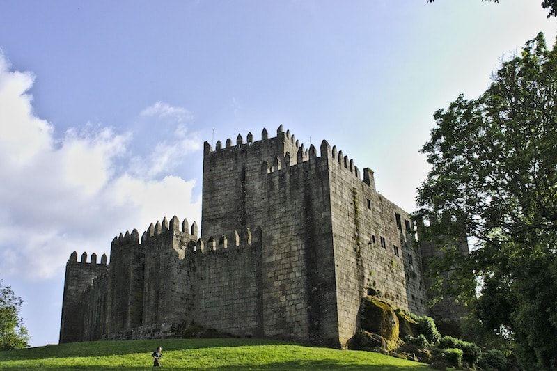 Castillo guimaraes cerca de Porto