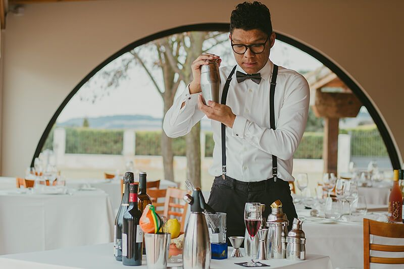 Coctelería en Pasaporte a la Ribera 2018