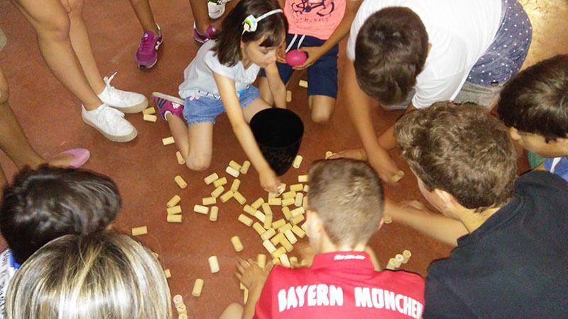 Niños y la cultura del vino