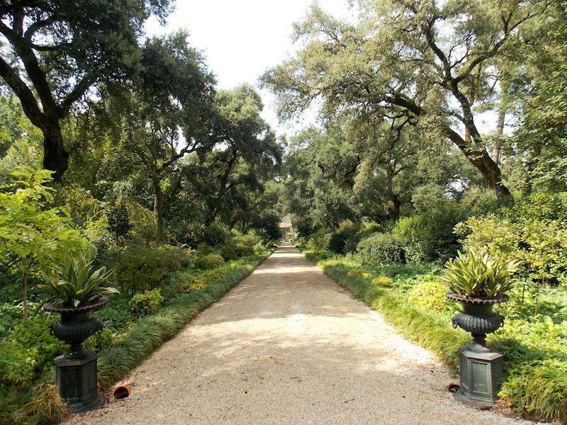 Jardines en Quinta da Veleda