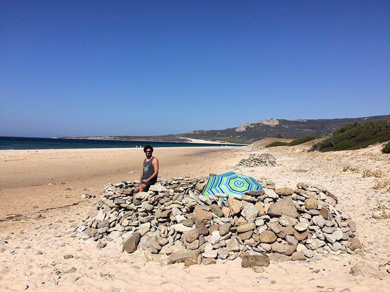 día de playa en Cádiz