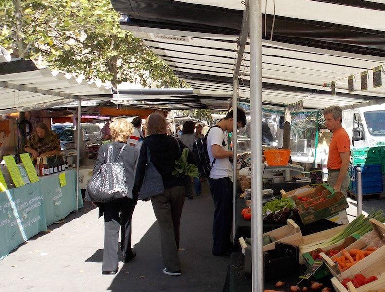 Mercado en Saint Germain