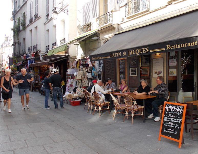 bares y restaurantes en París