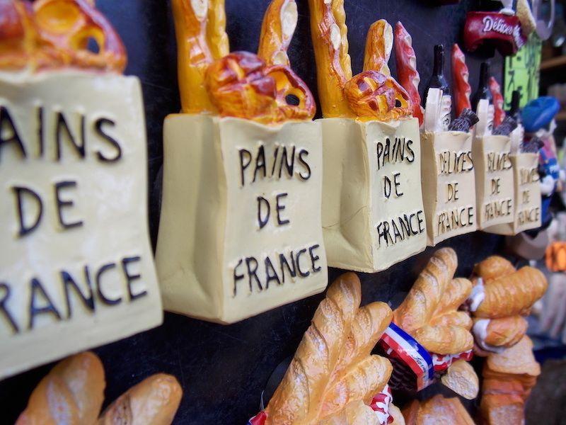 Probar la bagette en París