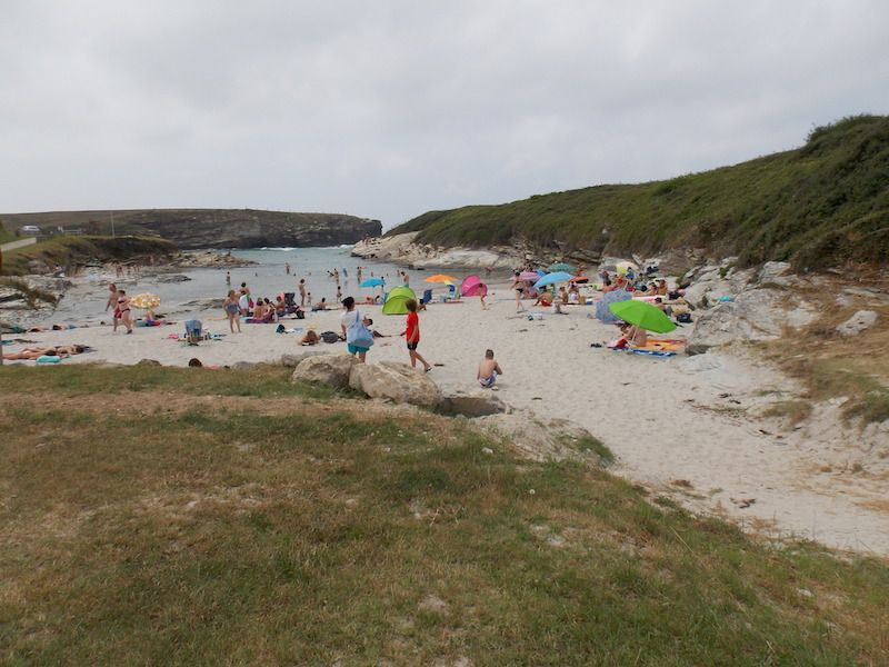 Esteiro en la ruta de las playas de Galicia