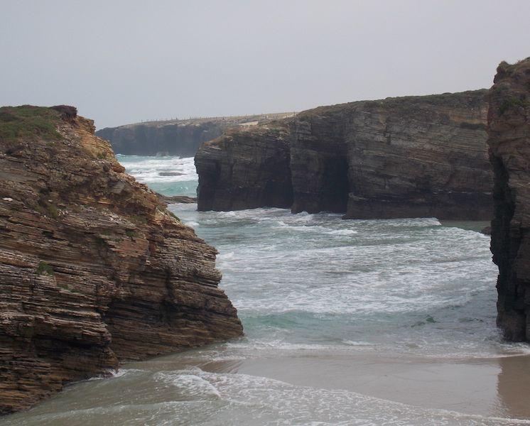 Playa Augaas Santas en Galicia
