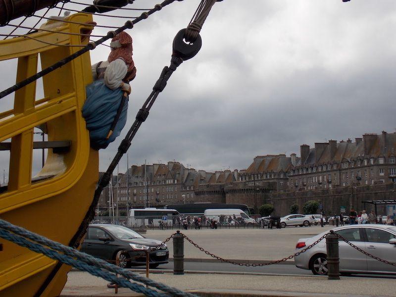 Entrada a la ciudad de Saint Malo