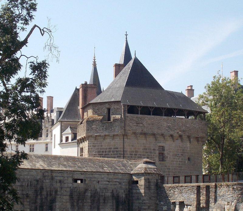 Fortaleza Nantes cerca de Rennes