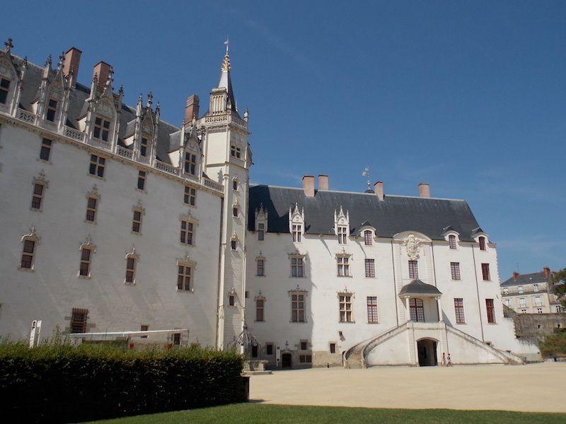 castillo de los duques de Bretaña cerca de nantes