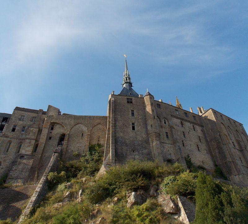 Abadía Mont Saint Michele cerca de Rennes