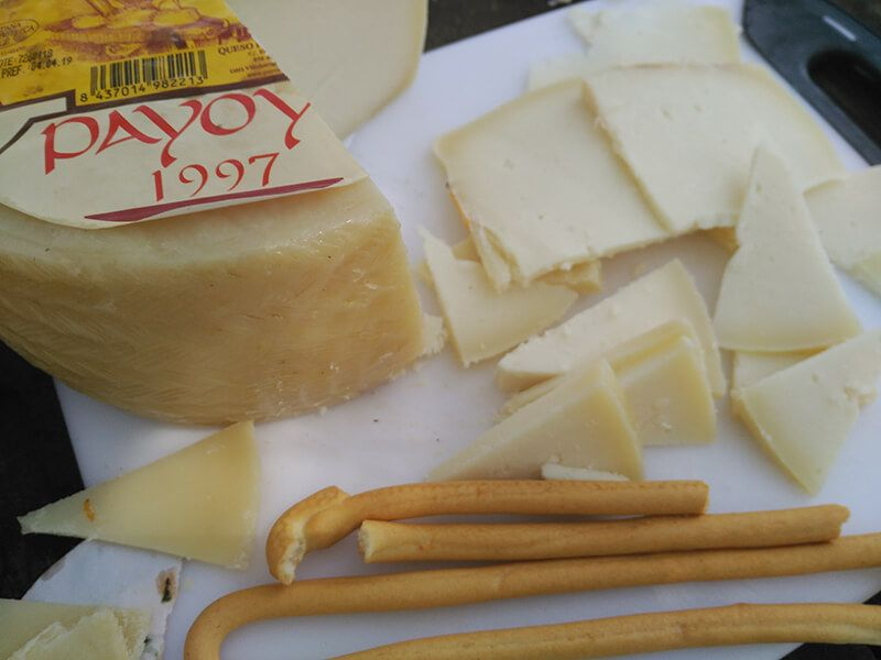 delicioso queso payoyo