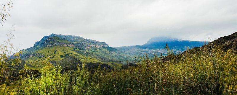 Vistas de la Serra de Tramuntana
