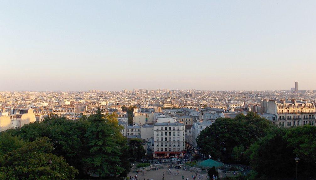 barrios del centro de París