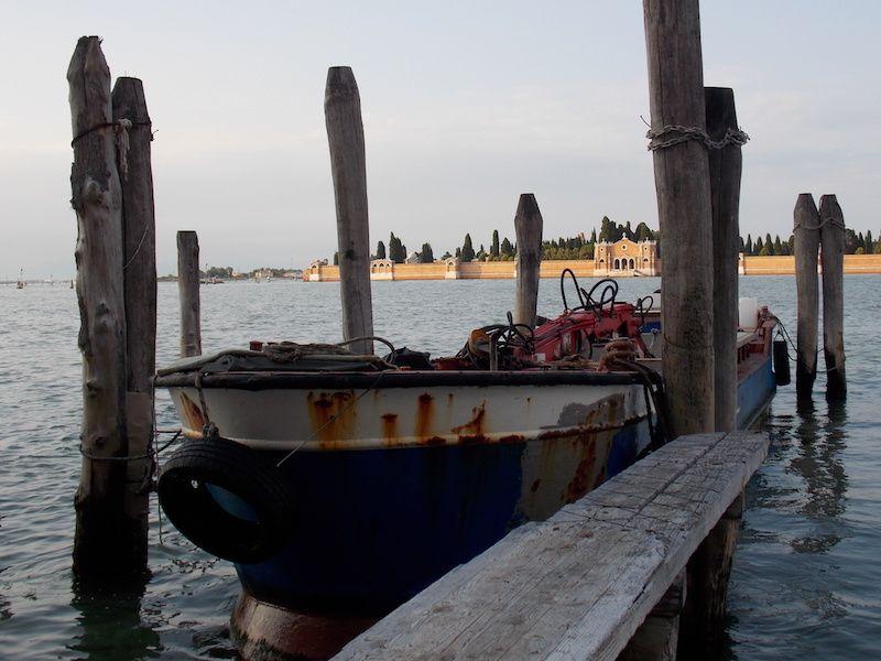 isla de los muertos en Venecia