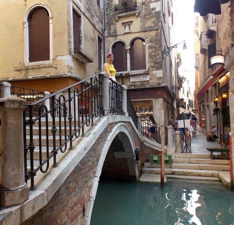 Canales menores en Venecia