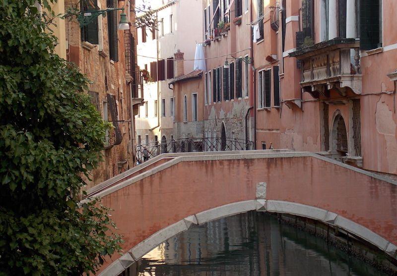 puentes y canales de Venecia