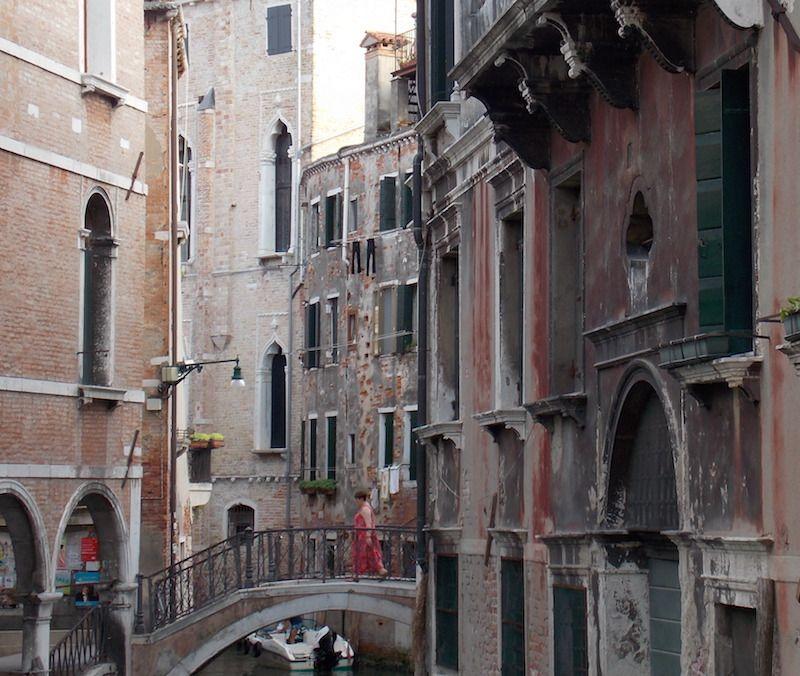 Barrio de Cannaregio en Venecia